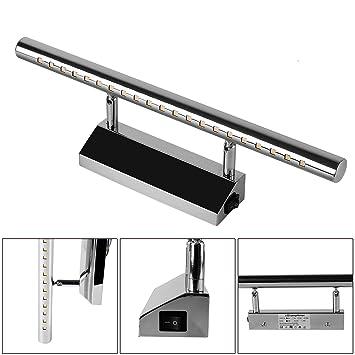 Luminaire Salle De Bain Avec Interrupteur Lampe Pour Miroir Applique Salle  De Bain Led 105cm/