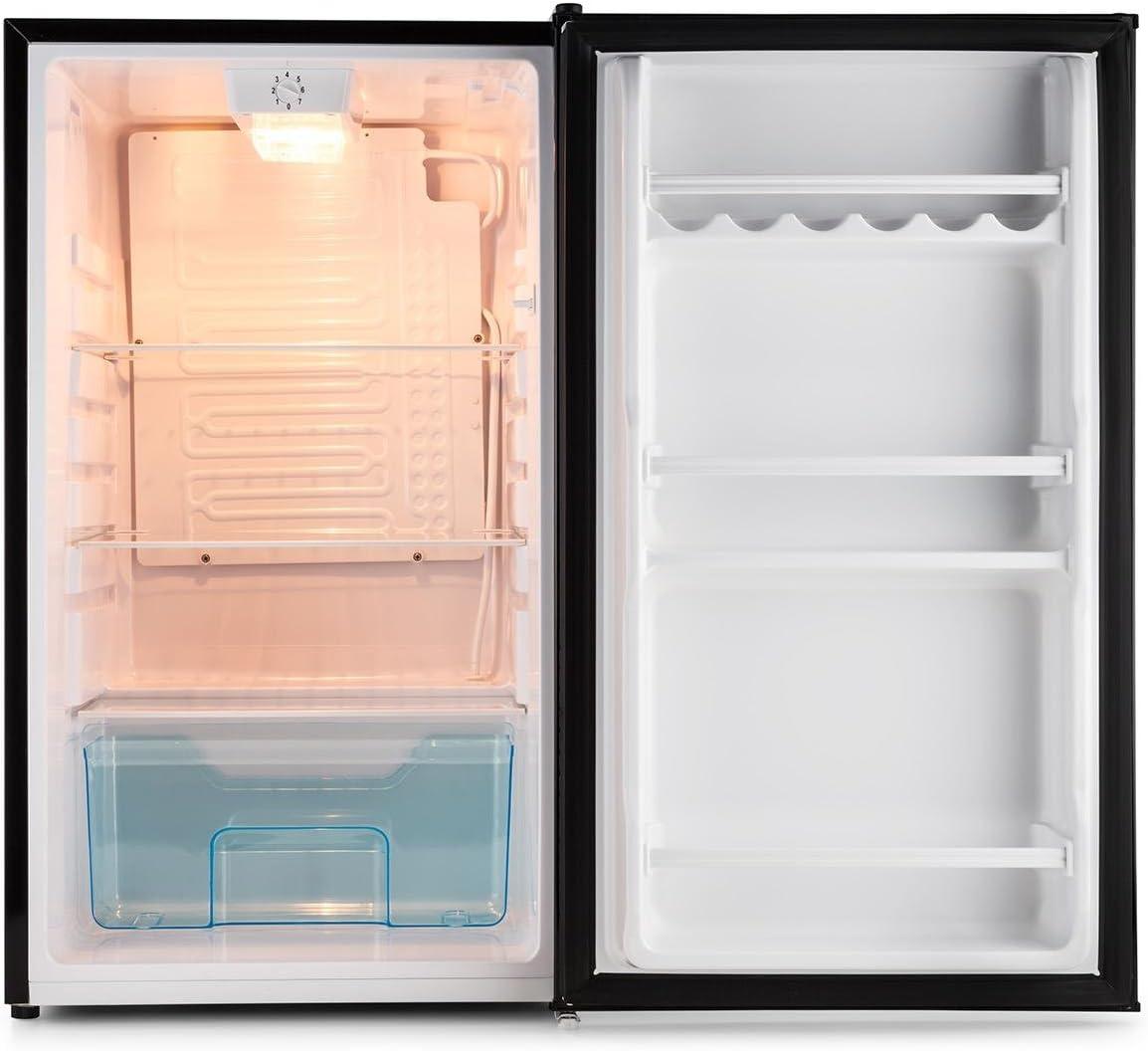 Klarstein Springfield Stand de frigorífico negro: Amazon.es: Hogar