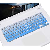 "CASEDAO Keyboard Cover for ASUS Chromebook Flip C302CA-DH54 C302CA-DHM4 12.5 inch/ASUS Chromebook C423NA 14"" / ASUS…"