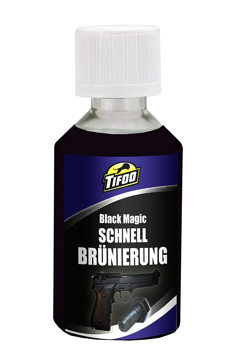 Quick bluing solution Black Magic (50 ml) - DIY black finishing, cold browning – Quick and easy blunig - made by yourself cold browning - Quick and easy blunig - made by yourself MARAWE
