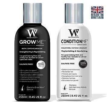 Shampoing aide a la pousse des cheveux