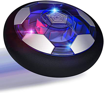 Blue Spring/& Soccer Hover Football for Families/&Team Games.Ball Toys with Colorful LED Light for Teen Boy Birthday Presents Gifts Boys Toys 3-12