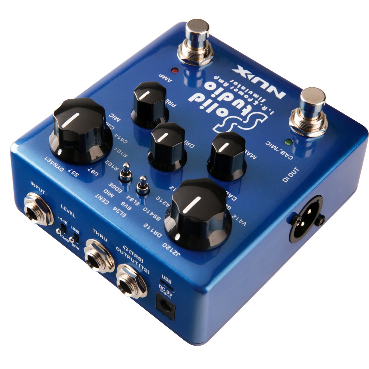Nux Solid Studio Ir Power Amp Simulator Loader With Is It Ok To Put A State Pedal Through Valve Geekchat Built In Cabinet Microphones And Microphone Positions 3