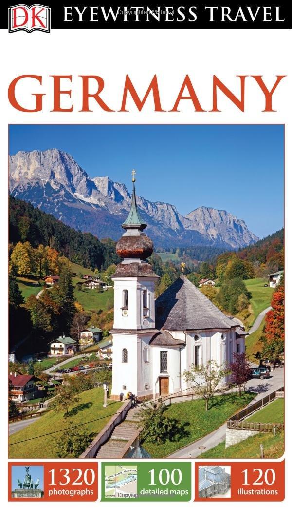 Map Of Germany Landforms.Dk Eyewitness Travel Guide Germany Dk Travel 9781465440181