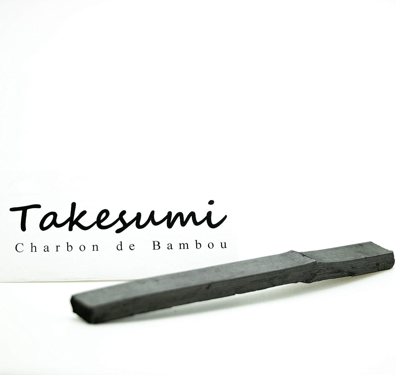 Lot de 3 Takesumi du Japon pour Purifier leau de Carafe ou Gourde Savoir-Faire ancestral Nippon 1 b/âton = Jusqu /à 6 Mois de filtrage Filtre /à Eau 100/% Naturel Charbon Actif de Bambou