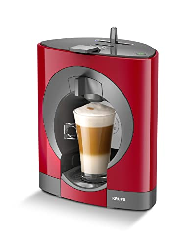 Krups NESCAFÉ Dolce Gusto Oblo Manual Coffee Machine - Red