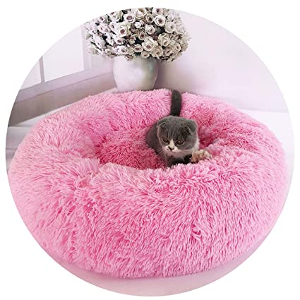 Colorful-World Winter Warm Pet Dog Beds for Small Medium Dogs Soft French Bulldog House
