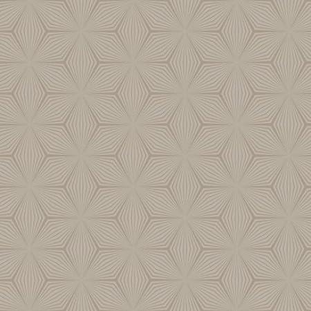 Geometric Wallpaper Metallic Shiny Rose Gold Stone Apex 3D Modern Fine Decor