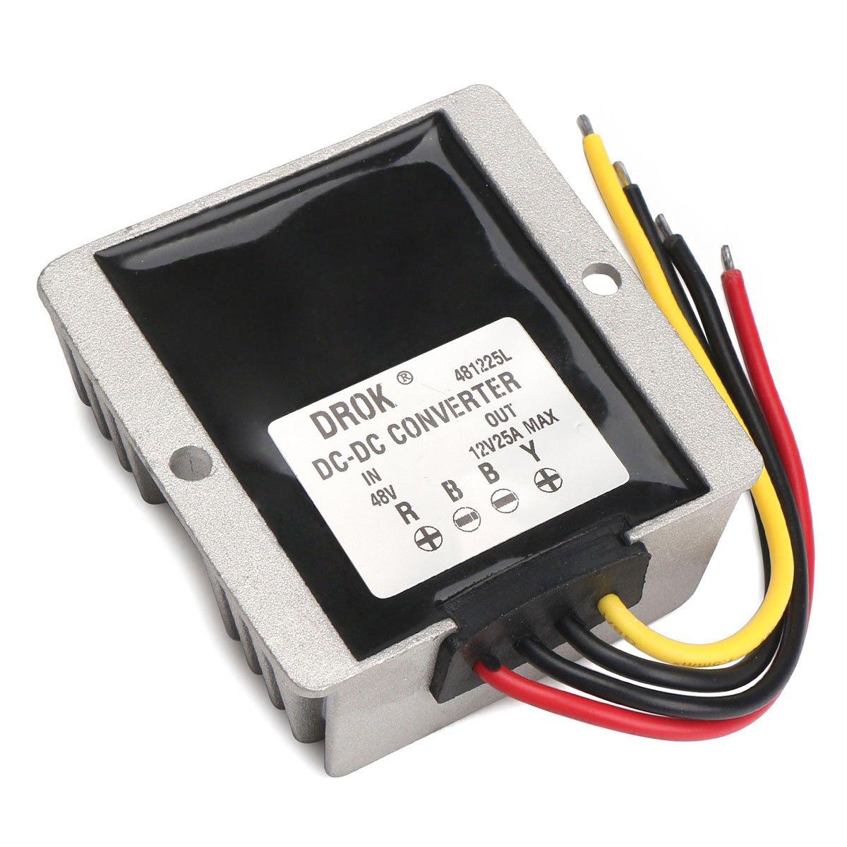 DROK® DC-DC-Auto-Energien-Adapter Buck: Amazon.de: Elektronik
