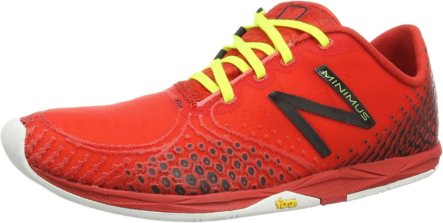 Poner la mesa recepción Acostado  New Balance Minimus MR00v2 Running Shoes Red Rot (RB2 RED/Black) Size: 49  EU (13.5 Herren UK): Amazon.co.uk: Shoes & Bags