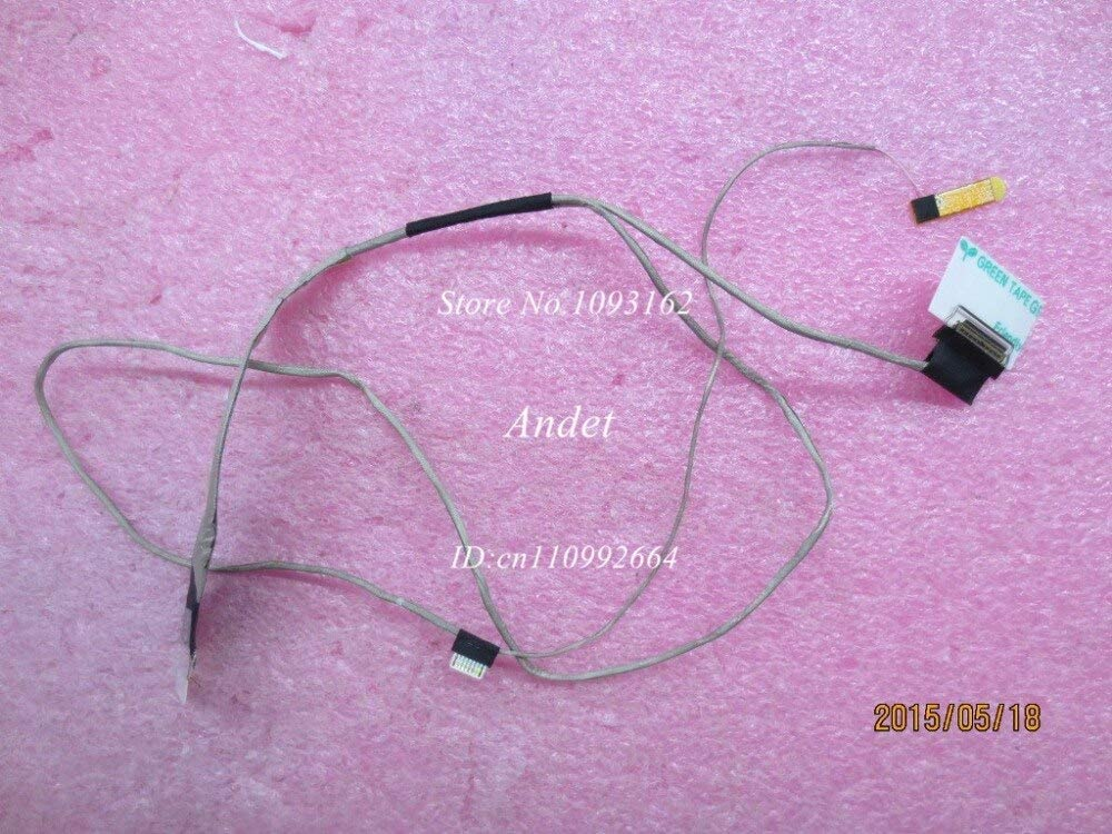 Occus New Original for Lenovo ThinkPad E550 E550C AITE1 LCD Screen Cable 00HT633 DC02C005000 - (Cable Length: Other)