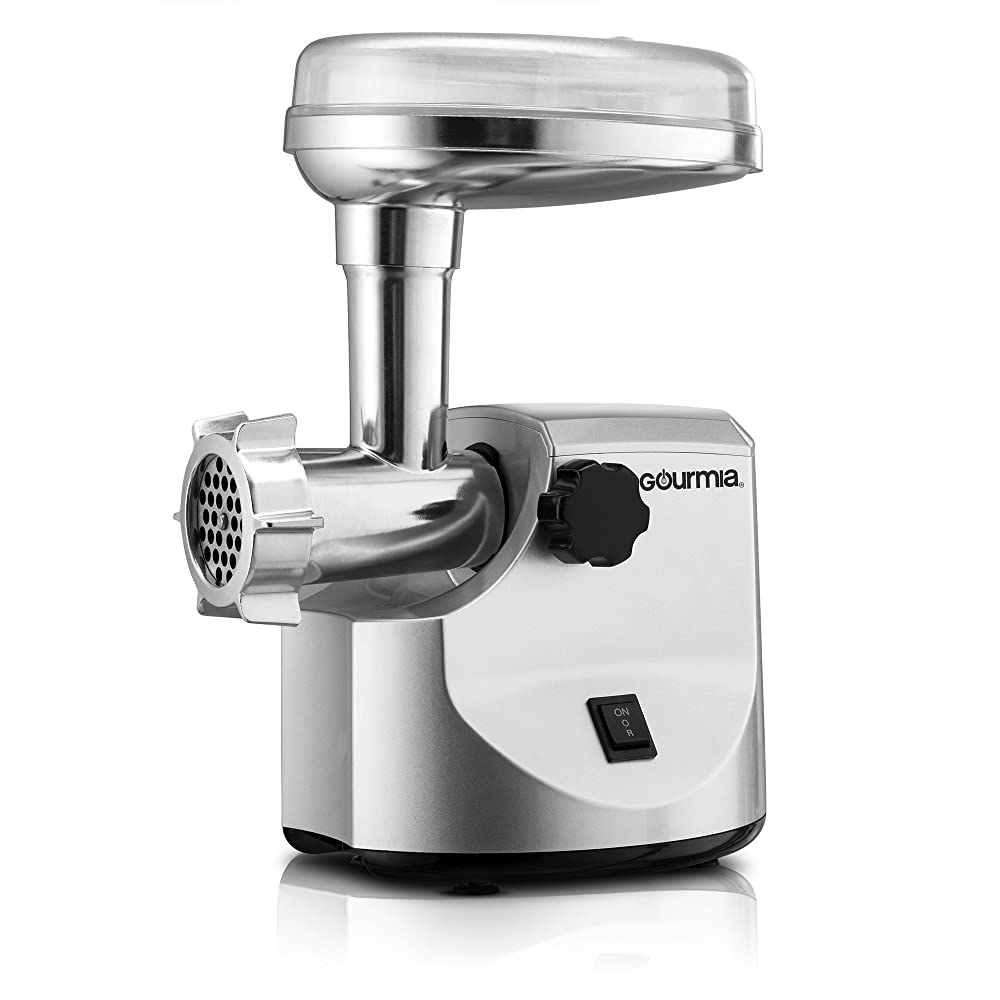 Gourmia Meat Grinder with Sausage Funnels Review