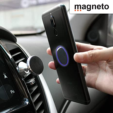 Amazon.com: Magneto Magnetic air-Vent Phone Holder-Mount Universal Stand for iPhone X 8 7 7P 6s 6P 5S Galaxy S9 S8 S7 S6 Google Pixel LG Huawei Latest ...