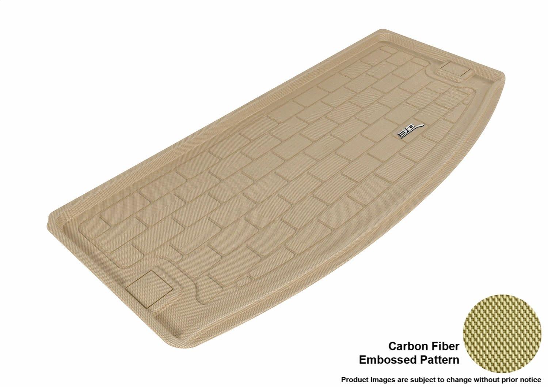 3D MAXpider Cargo Custom Fit All-Weather Floor Mat for Select Dodge Durango Models Kagu Rubber Gray