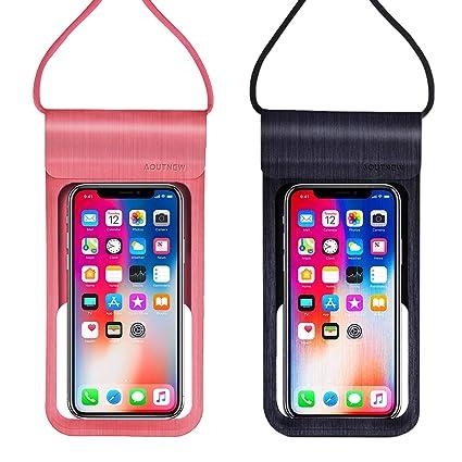 Amazon.com: Aoutnew Funda impermeable para teléfono móvil ...