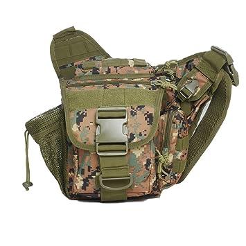 Militar Molle hombro bolsa Pouch Versipack táctico Messenger ...
