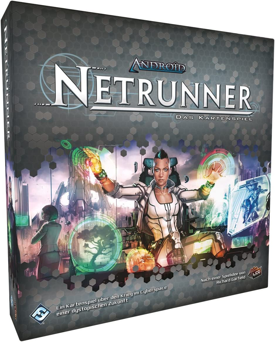 Fantasy Flight Games DE Ffgd2556 Android Netrunner The Card Game Core