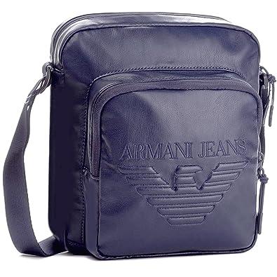 Armani Jeans 932181 7A937 Black Pouch Bag One Size  Amazon.co.uk ... a47d69f73b06f