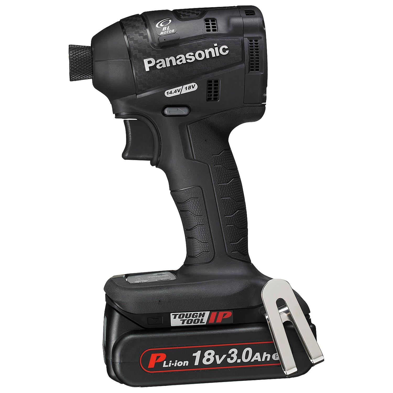 パナソニック(Panasonic) 充電インパクトドライバー 18V 3.0Ah 黒 EZ75A7PN2G-B  黒 B013CYTSNU