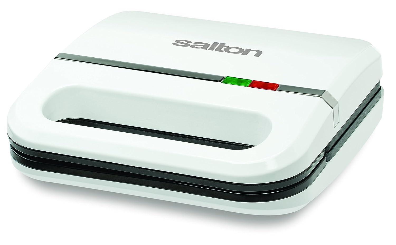 Salton SM1068 Sandwich Maker, White