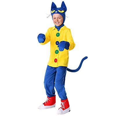 Child's Pete the Cat Costume: Clothing
