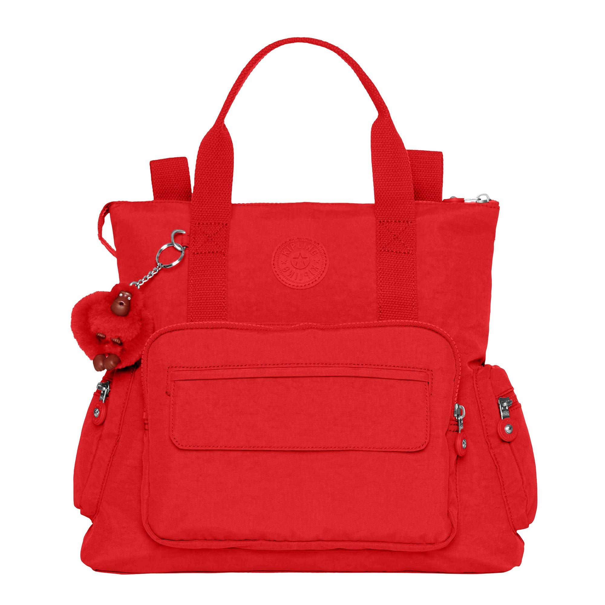 Kipling-Alvy-Black-Convertible-Handbag