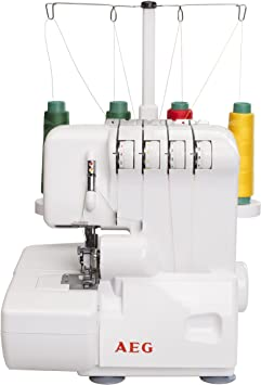 AEG Overlock-máquina de coser NM-3500: Amazon.es: Electrónica