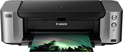 Amazon Com Canon Pixma Pro 100 Wireless Color Professional Inkjet Printer With Airprint And Mobile Device Printing Electronics