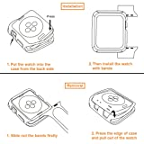 iiteeology Compatible with Apple Watch Case, 38mm
