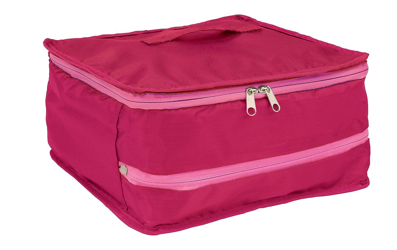 88db9eca17 Amazon.co.jp|持ち運べるクローゼット スリム ピンク Fu-90073 <スーツケース 収納バッグ トラベルバッグ 旅行 ガーメントバッグ  キャリーケース>|旅行用品・旅行 ...