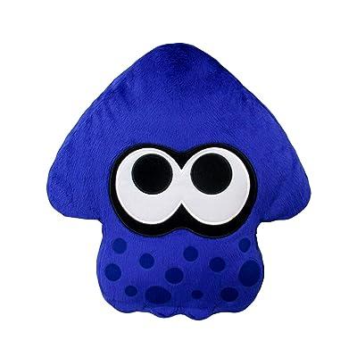Little Buddy 1666 Splatoon 2 Series - 1666 - Bright Blue Squid Cushion Plush Toys: Toys & Games [5Bkhe0203515]