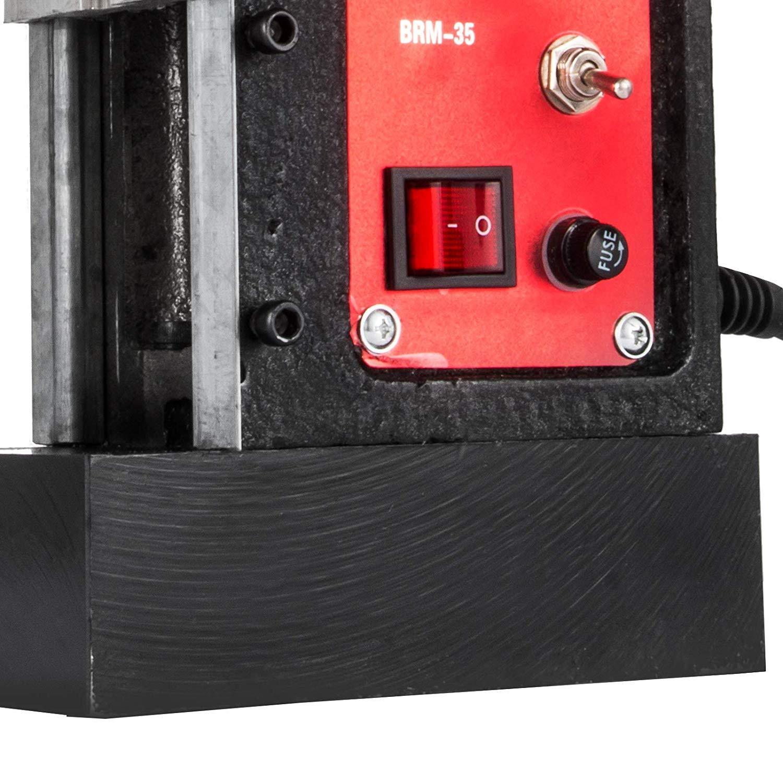 BRM35 Buoqua BRM35 Magnetkernbohrmaschine 980W Kernbohrmaschine Magnetbohrmaschine 680 U//min Magnetic Core Drills Mag Drill 35mm