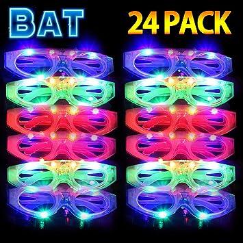 Amazon.com: Kakary – Gafas de luz, 20 unidades LED de ...