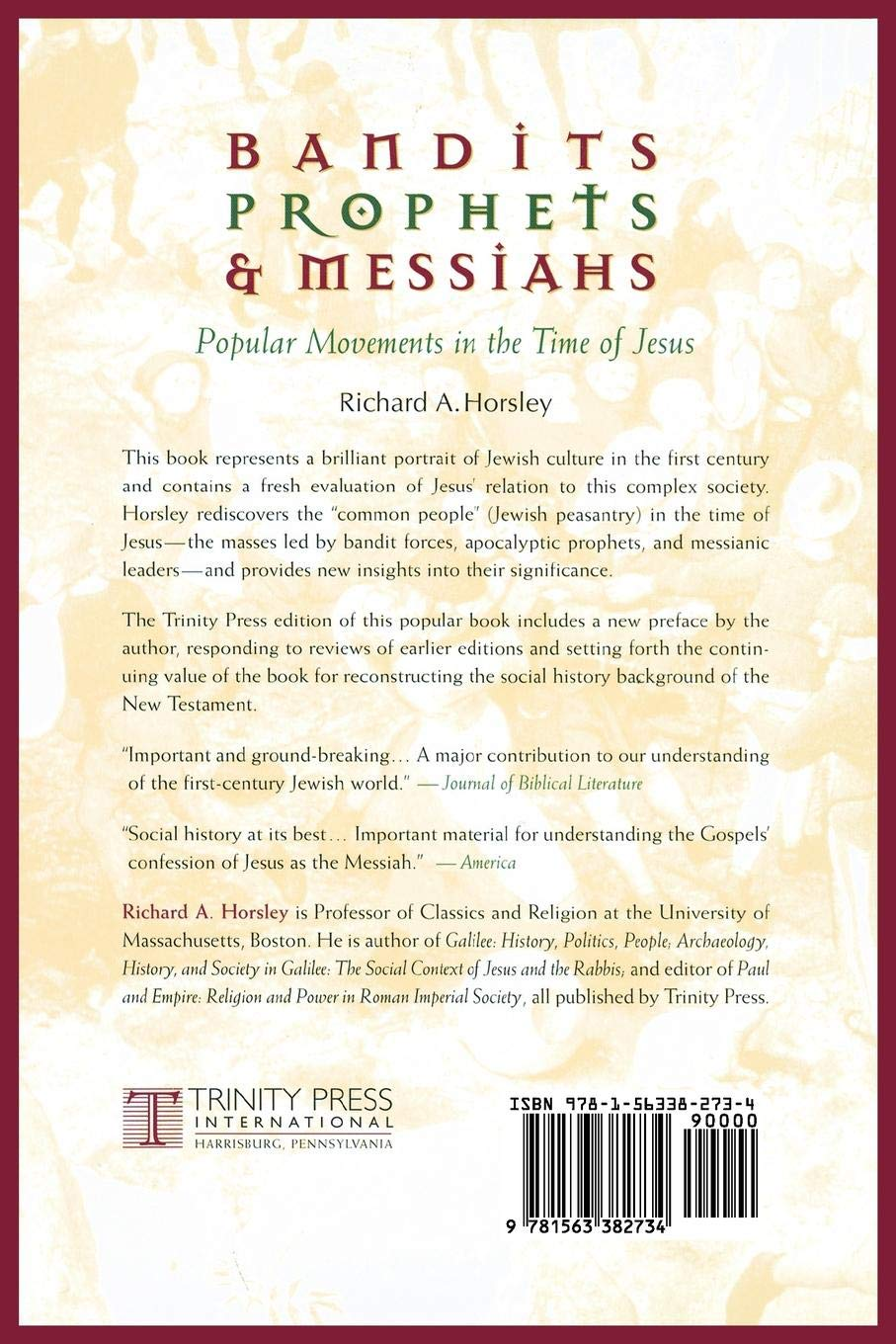 Bandits, Prophets, and Messiahs: Popular Movements at the