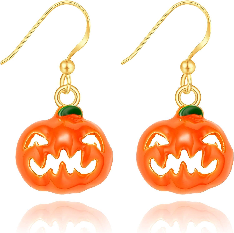 Acrylique Halloween Magical Witch Boucles d/'oreilles Goutte Dangle Fashion Jewelry for Women