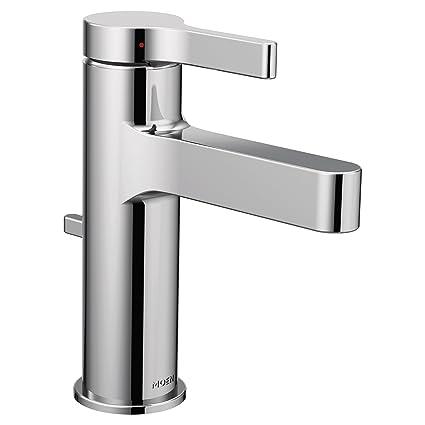 Moen Vichy One Handle Bathroom Faucet, Chrome (6710)