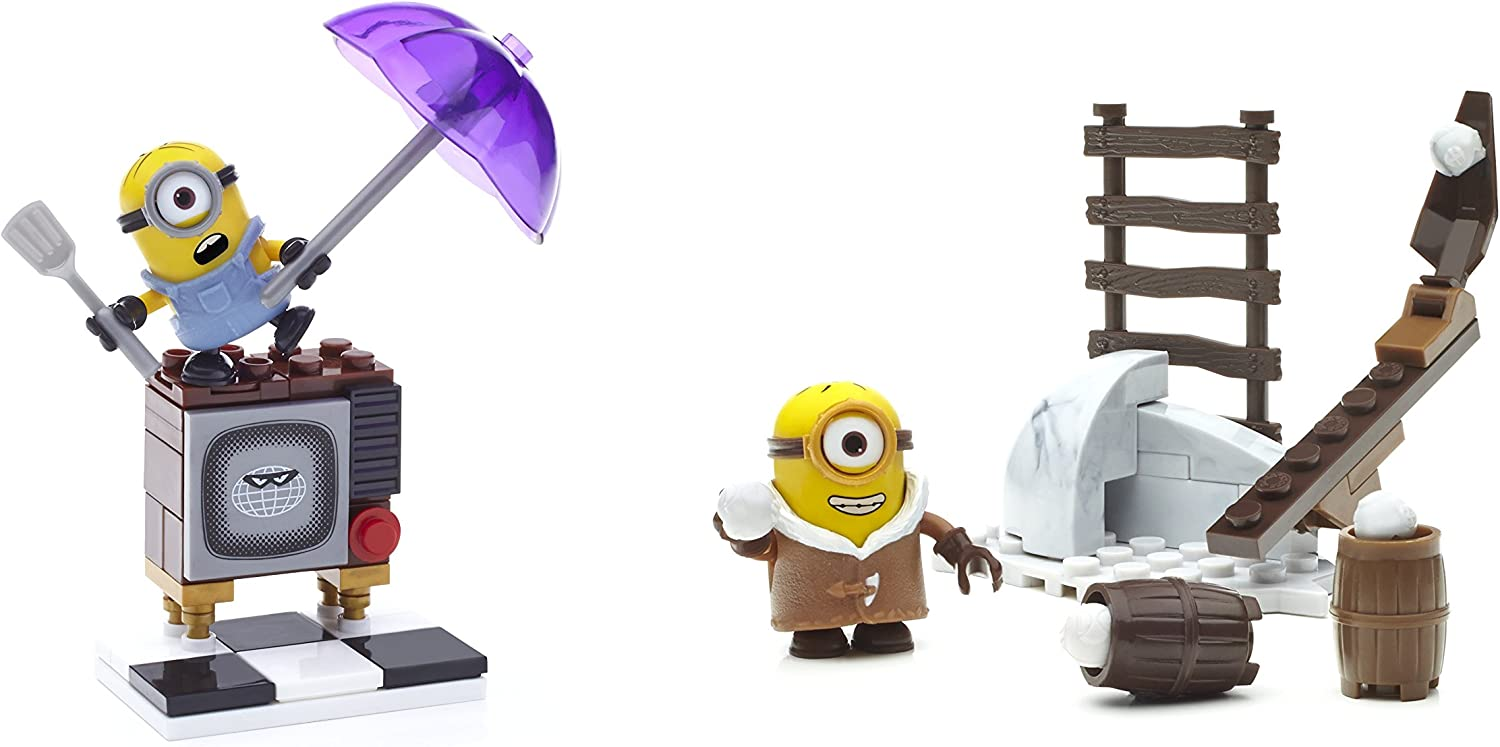 MEGA BLOKS DESPICABLE ME MINIONS ASSORTMENT