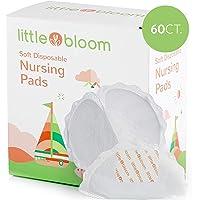 Tamponi per l'allattamento Littlebloom pacco da 130-130 tamponi per l'allattamento usa e getta in microfibra a nido d'ape assorbente morbidissimi per una comoda protezione giornaliera