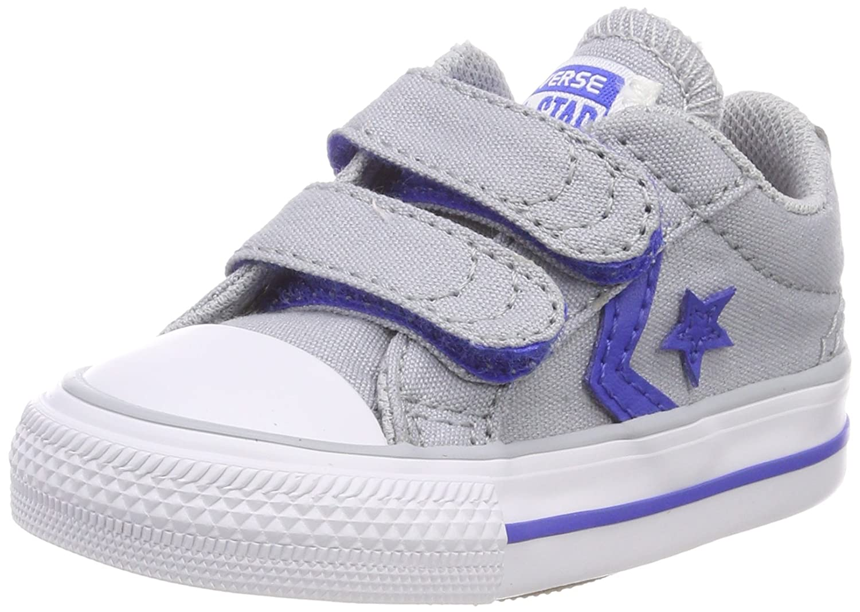 Converse Star Player Ev 2v Ox Wolf Grey, Baskets Mixte Enfant 760034C