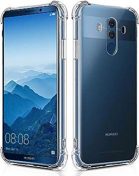 Verco Funda para Huawei Mate 10 Pro, Carcasa de Silicona TPU Suave ...
