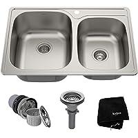 Amazon Best Sellers Best Double Bowl Kitchen Sinks