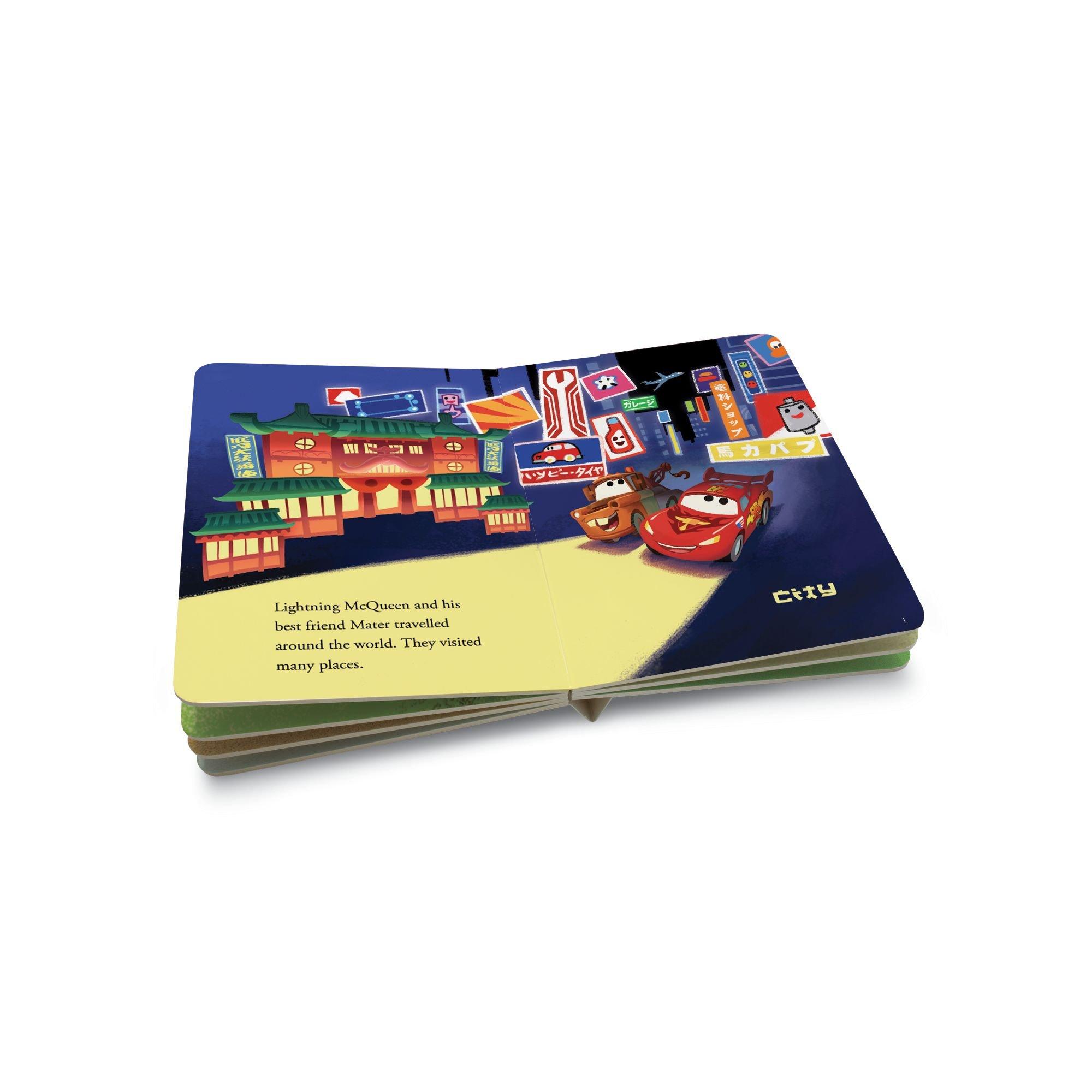 Leapfrog LeapReader Junior Book: DisneyPixar Cars 2: World Adventure (works with Tag Junior) by LeapFrog (Image #6)