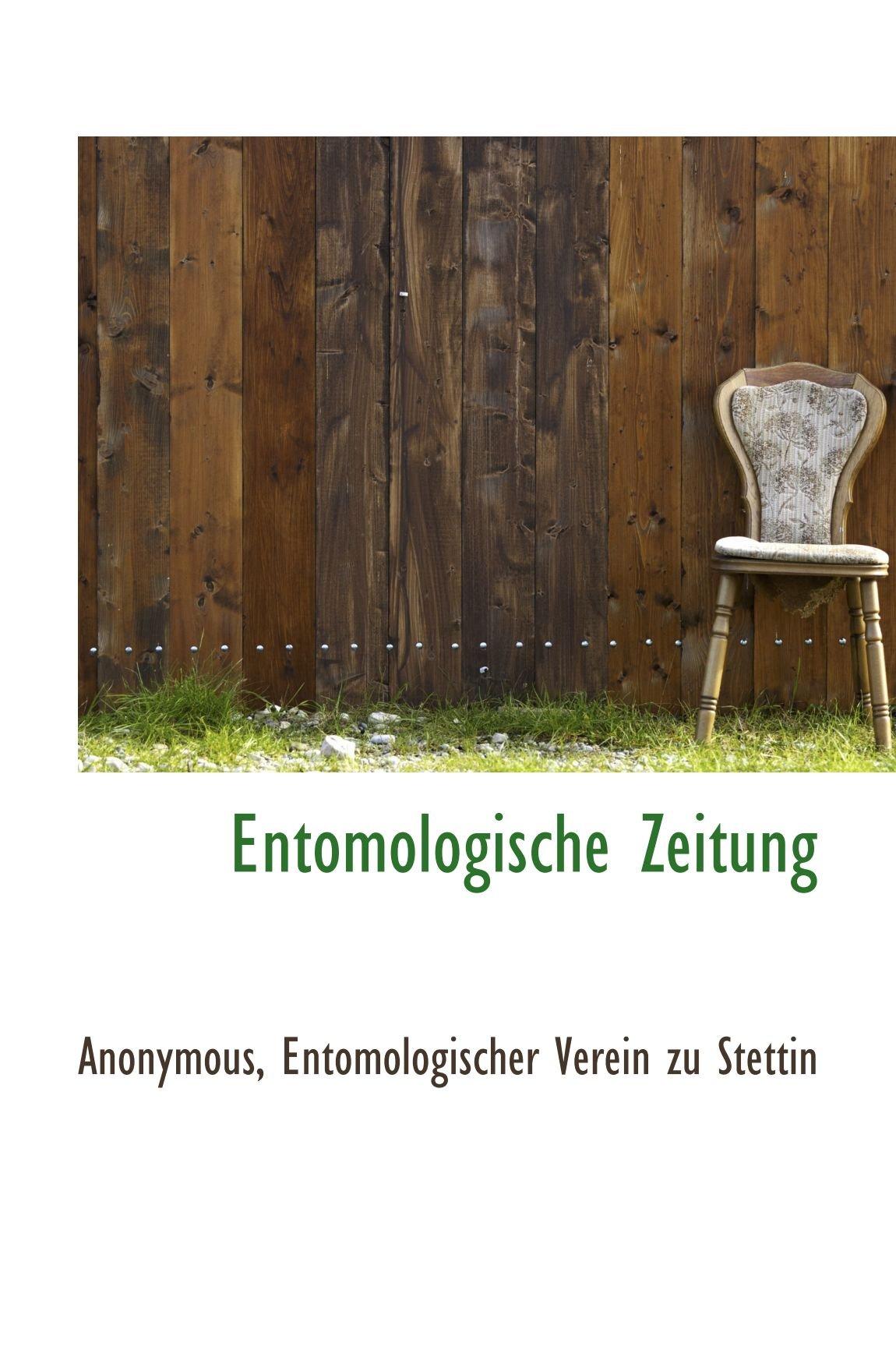 Download Entomologische Zeitung (German Edition) PDF