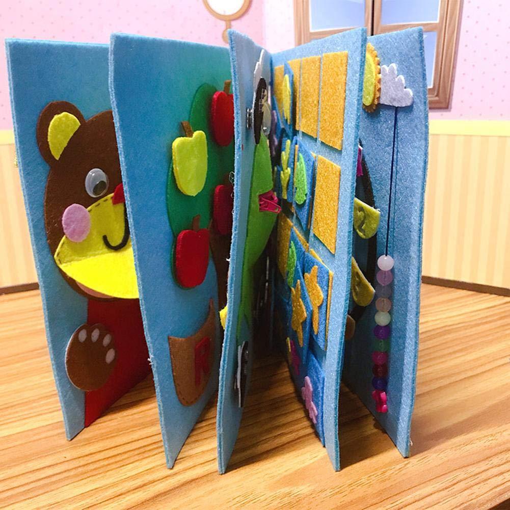 Depruies Childrens Picture Book Livre de Bricolage Calme Livre d/éducation pr/écoce