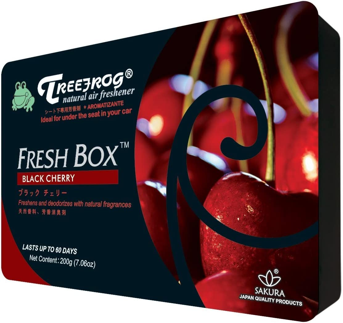 Treefrog Natural Air Freshener, Black Cherry Scent