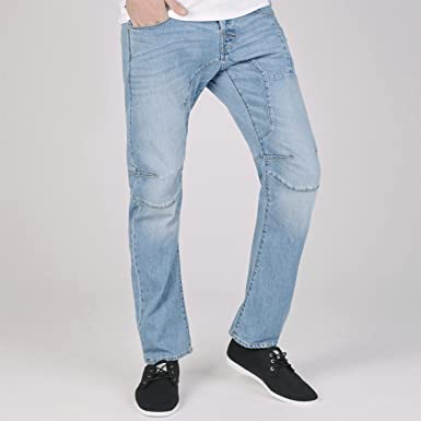 8f4f9c405841e9 Jack and Jones Men Intelligence Anti Fit Stan Osaka Jeans Pants Trousers  Bottoms Light Wash 36