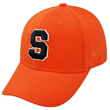 sale retailer 7c087 7d18e Top of the World Syracuse Orangemen Official NCAA One Fit Cap 267357