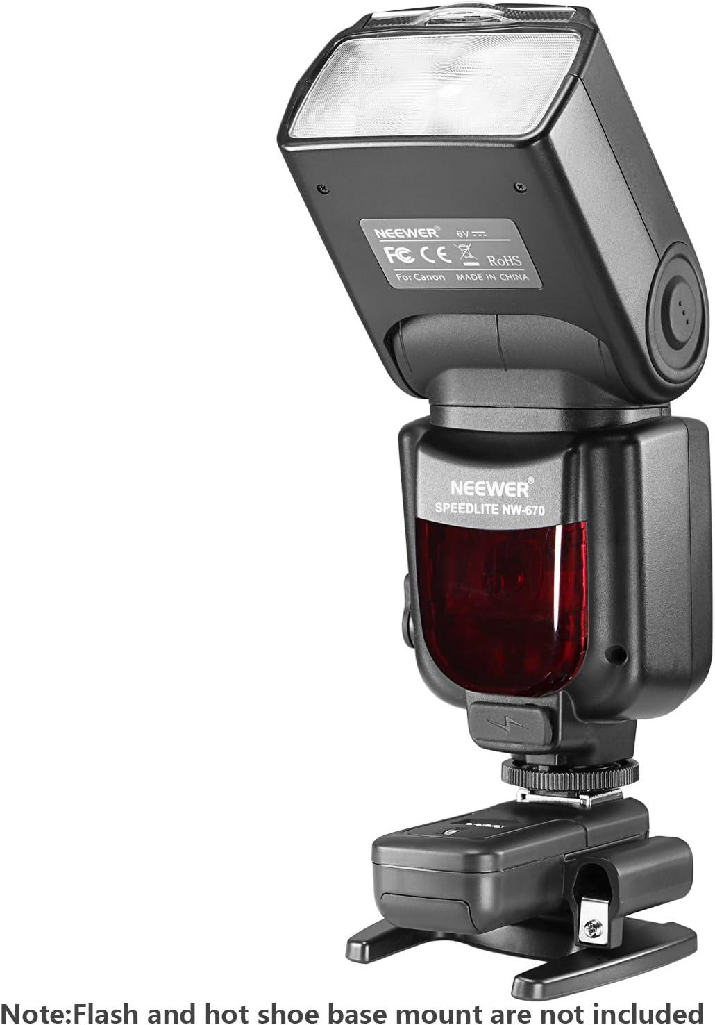 ct-16 1 geeignet f/ür Canon Nikon Pentax Olympus Panasonic DSLR-Kameras Neewer 16/Kan/äle Wireless Radio Flash Speedlite Studio Blitzausl/öser Set Sender und 4 -Receiver inkl.