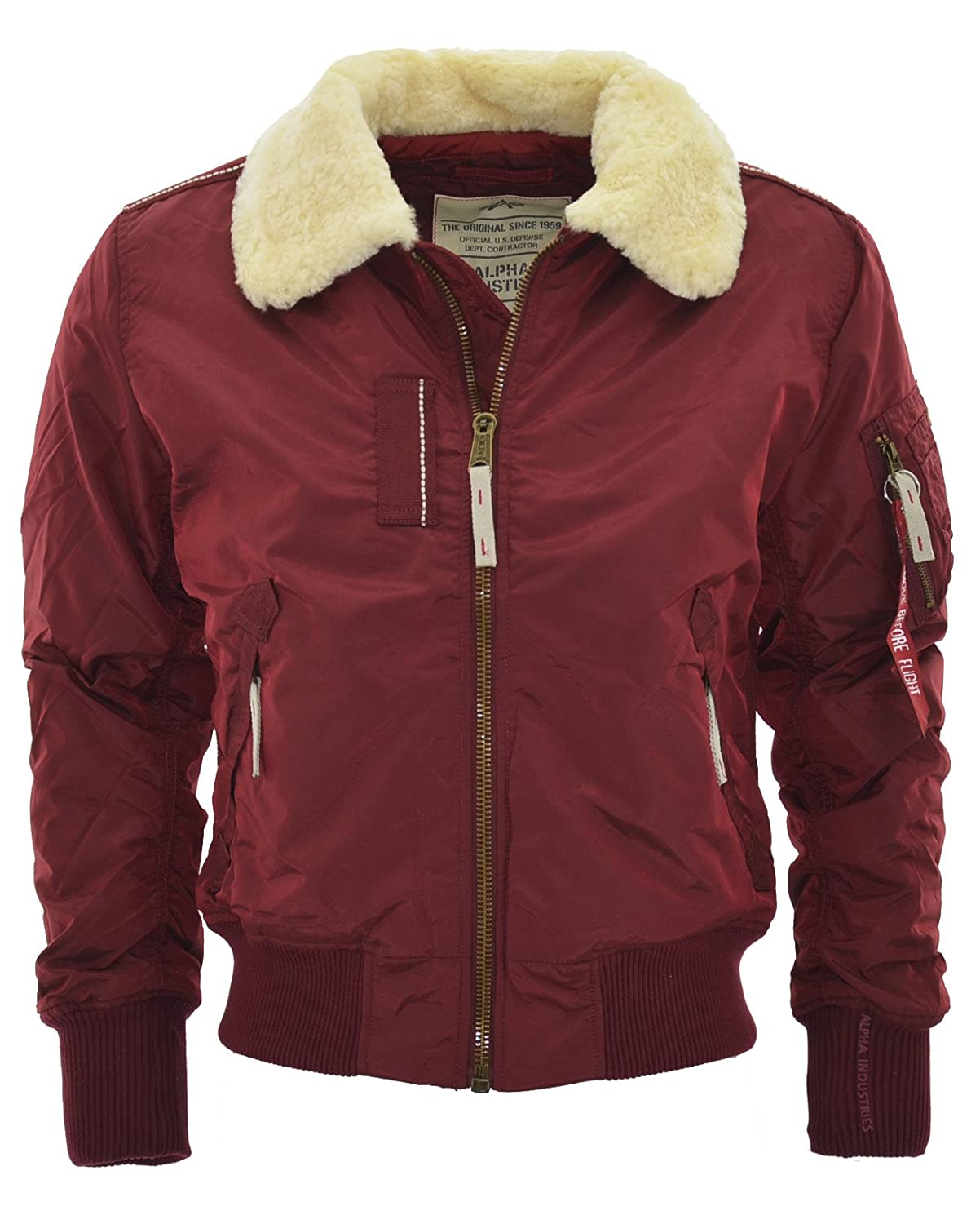 Alpha Industries Men's Jacket red red