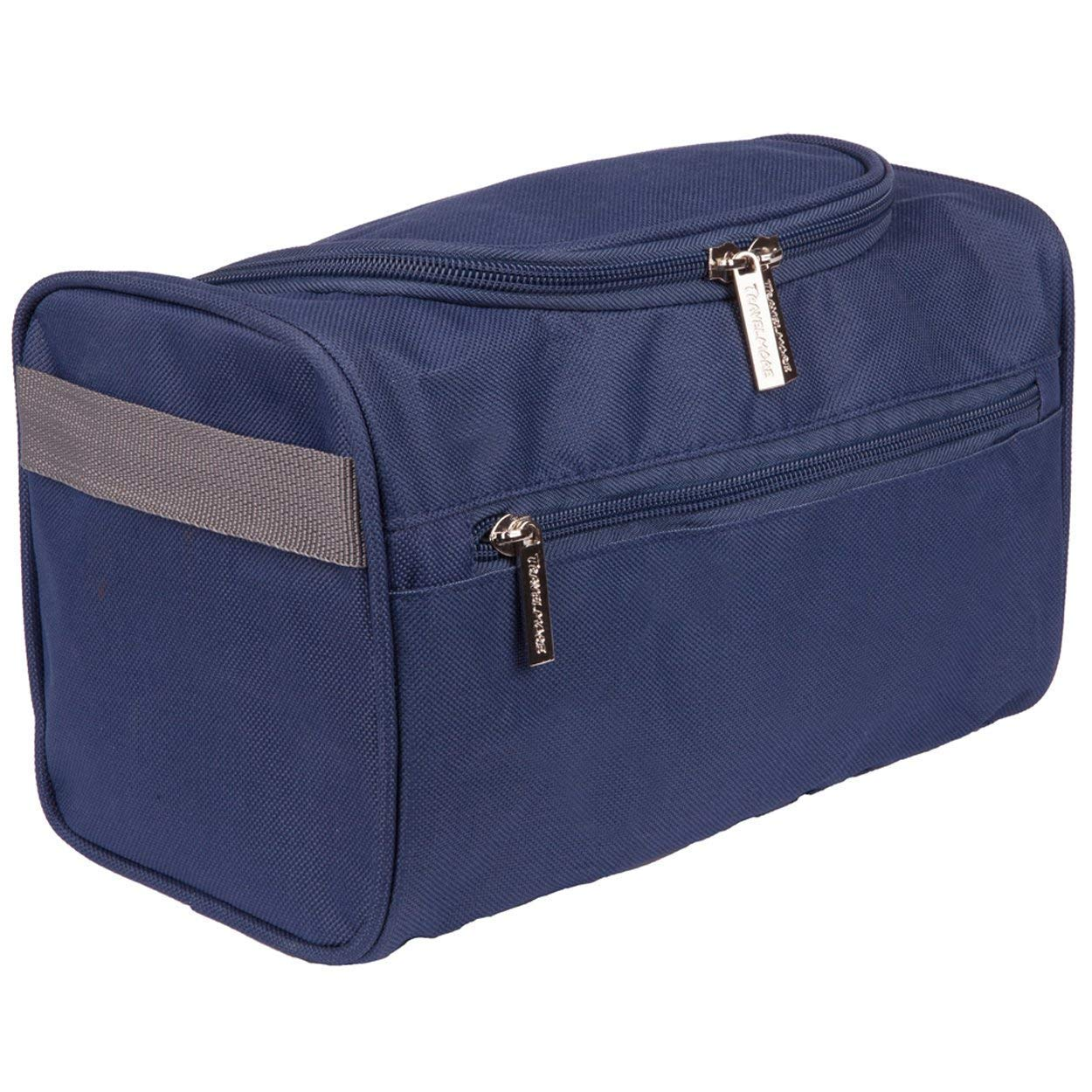 appeso da uomo trousse da viaggio lavare la borsa rasatura kit perfetto per toelettatura Dimensioni da viaggio da toeletta Blue CN